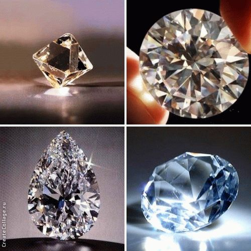 бриллианты фото свойства