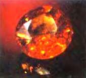 камни водолея - гранат