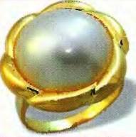 камни рака - жемчуг
