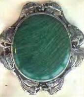 камни весов - малахит