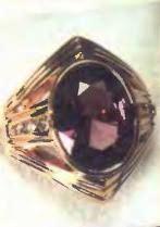 кольцо с александритом