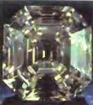 бриллиант восьмиугольной формы