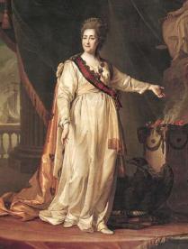 Портрет Екатерины Второй