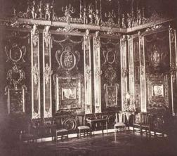 Янтарная комната. 1859 Гелиогравюра из альбома Т. Готье