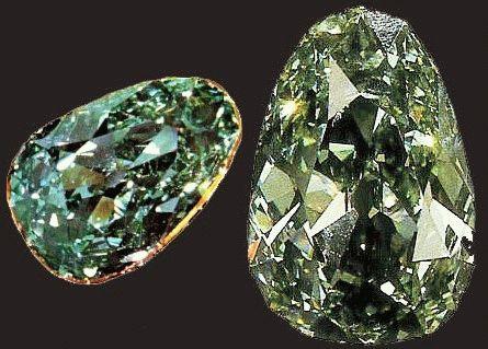 Зеленый Дрезденский бриллиант