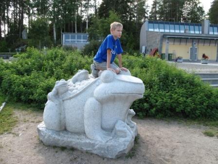 Финский центр камня фигуры