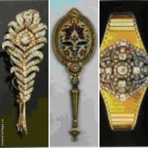 Золотая подвеска с эмалью и самоцветами работы Карло Джулиано