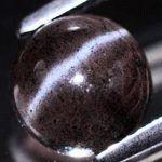 Чёрный цвет камней самоцветов и минералов. Черный жемчуг, гагат, гематит