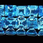 Голубой цвет камней самоцветов и минералов Вишудха чакра