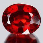 Красный цвет камней самоцветов и минералов