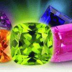 Цвет драгоценных камней самоцветов и минералов - Цветовая палитра кристаллов