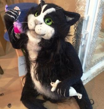 кошка для защиты квартиры