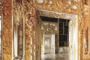 Янтарная комната в Санкт-Петербурге: история, кто подарил, янтарный кабинет