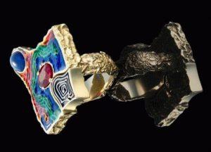 Элементы ювелирных украшений: зернь, финифть, инкрустация, чернь